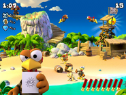 Moorhuhn Piraten Screenshot 1