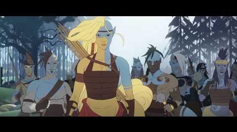 Banner Saga 3 Horseborn, the Race of Legend