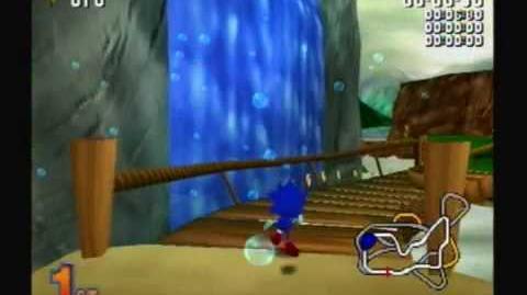 Sonic R (Sega Saturn Gamecube) Gameplay Part 1