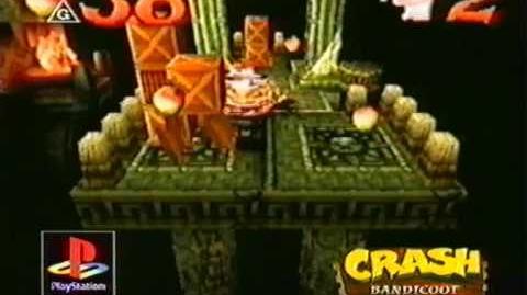 Crash Bandicoot Fernsehwerbung 1996