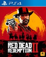 Red Dead 2 Cover PS4