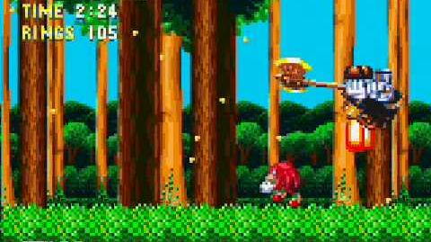 Sonic & Knuckles Gameplay (Knuckles)
