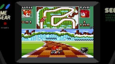 Sonic Drift 2 (Sega Game Gear) Gameplay Part 1 (Purple Chaos Emerald GP 1 2)