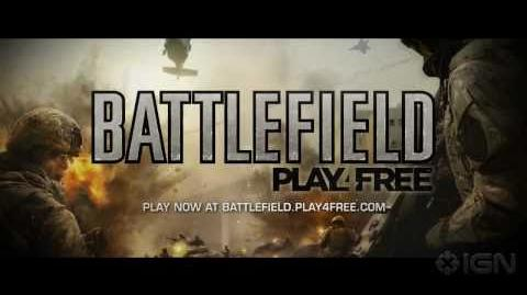 Battlefield Play4Free Official Launch Trailer