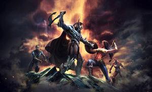 Injustice gods among us aeris by atomhawk-d6akdzg
