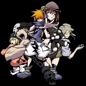 TWEWY Charaktere