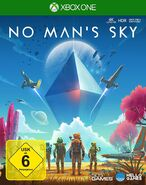 No Mans Sky Xbox One Cover