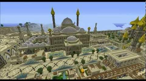 Minecraft Timelapse, episode 4 Djamila, cité orientale