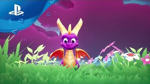 Spyro Reignited Trilogy Ankündigungs-Trailer PS4, deutsch