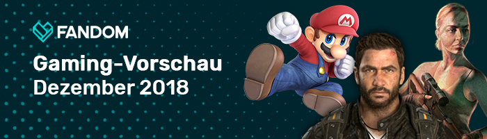 Blog-Header - Gaming-Vorschau Dezember 2018