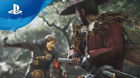 Ghost of Tsushima Gameplay Debut Trailer PS4, deutsche Untertitel E3 2018