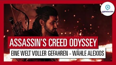 Assassin's Creed Odyssey Gamescom 2018 Eine Welt voller Gefahren Gameplay Trailer - Alexios