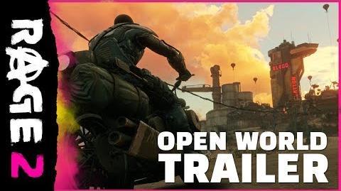 RAGE 2 – Open-World-Trailer