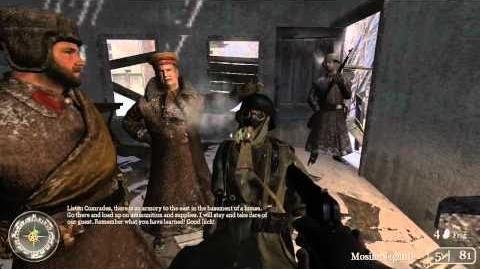 Call of Duty 2 Walkthrough HD Part 1 (Level 1 - Red Army Training) Veteran Difficulty