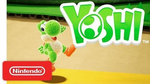 Yoshi's Crafted World - Gameplay-Trailer