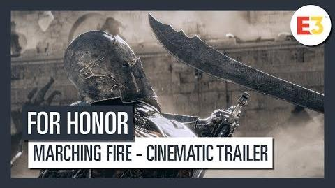 For Honor Marching Fire Cinematic Trailer E3 2018 Ubisoft DE