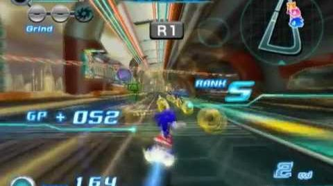 Sonic Riders Zero Gravity (PS2 Gameplay)