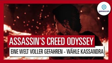 Assassin's Creed Odyssey Gamescom 2018 Eine Welt voller Gefahren Gameplay Trailer - Kassandra DE
