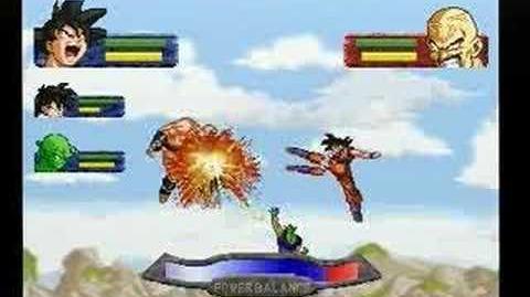 Dragon Ball Z The Legend - Saiyan Saga Battle Part 1 3