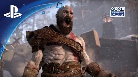 God of War - E3 2016-Gameplay-Demo PS4