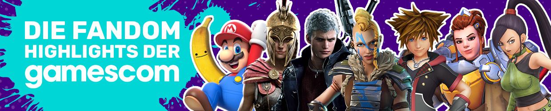 DE FANDOM gamescom 2018 Header