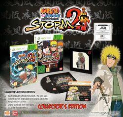 Naruto Shippuuden Ultimate Ninja Storm 2 Collector's edition cover XBox360
