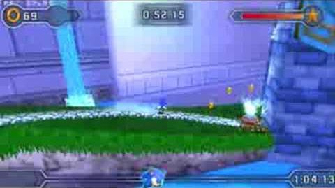Sonic Rivals 2 - Gameplay