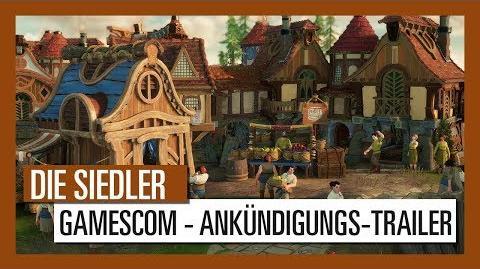 DIE SIEDLER - GAMESCOM ANKÜNDIGUNGS-TRAILER Ubisoft DE