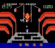 DonkeyKong3-Gameplay