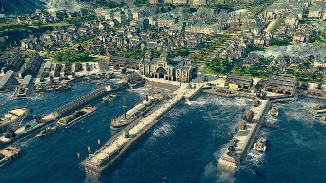 Anno 1800 city view