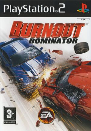 Burnout Dominator Cover