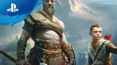 God of War – Combat Gameplay Trailer PS4 Paris Games Week 2017