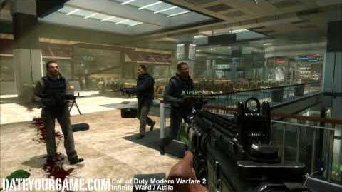 Call of Duty Modern Warfare 2 Gameplay Walkthrough 4 Act I No Russian