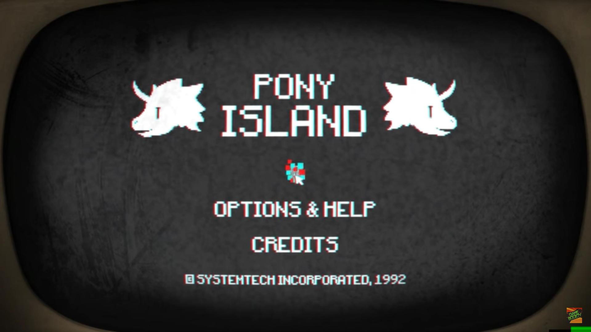 Luciferu0027s Pony Island