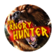 Angry hunter icon