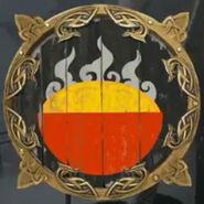 Emblem feudal noodle