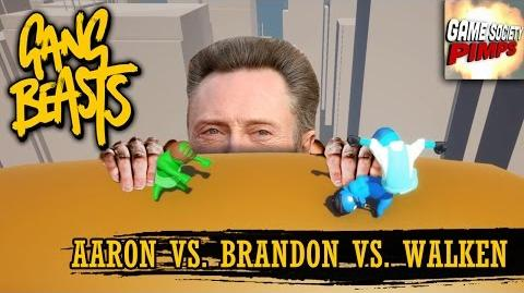 Gang Beasts - Blimp Walken (With Aaron, Jason, and Brandon) - Game SocietyPimps