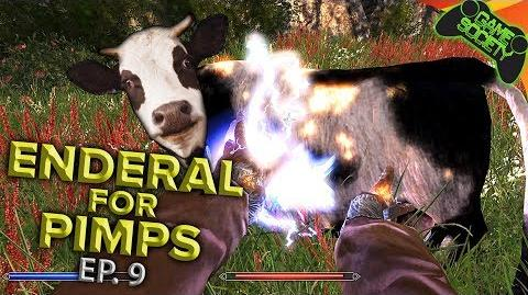 Skyrim For Pimps ENDERAL Mod - Electrocuting Cows (E09)