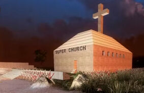 Super church exterior