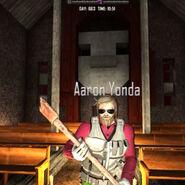 Aaron in church day 663