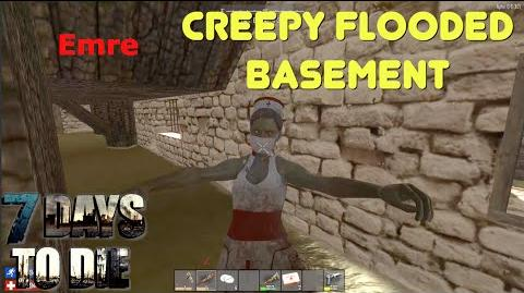 7 Days To Die - Creepy Flooded Basement (E103) - GameSocietyPimps