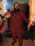Emre's live show pajamas