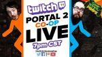 Portal 2 twitch 28 gamesocietypimps