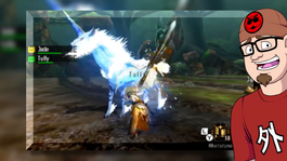 Monster Hunter Generations' Kirin screen