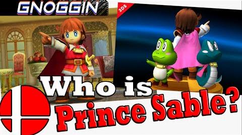 Prince Sable in Smash Bros! But Who is He? Gnoggin