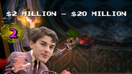 Luigi, the RICHEST Man screen
