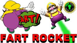 Fart Rocket Physics with the Wario Waft