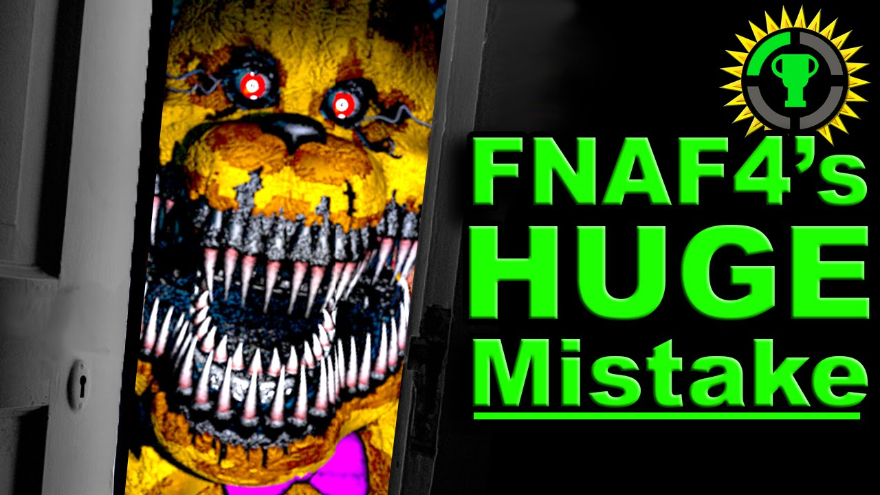 fnaf 4 got it all wrong the game theorists wiki fandom powered