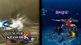 Bayonetta screen