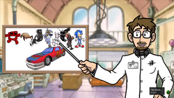 Meat Boy Daytona USA Screenshot